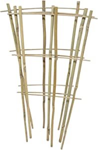 Natural Color Bamboo Trellis 18 inches Tall - Quantity 5