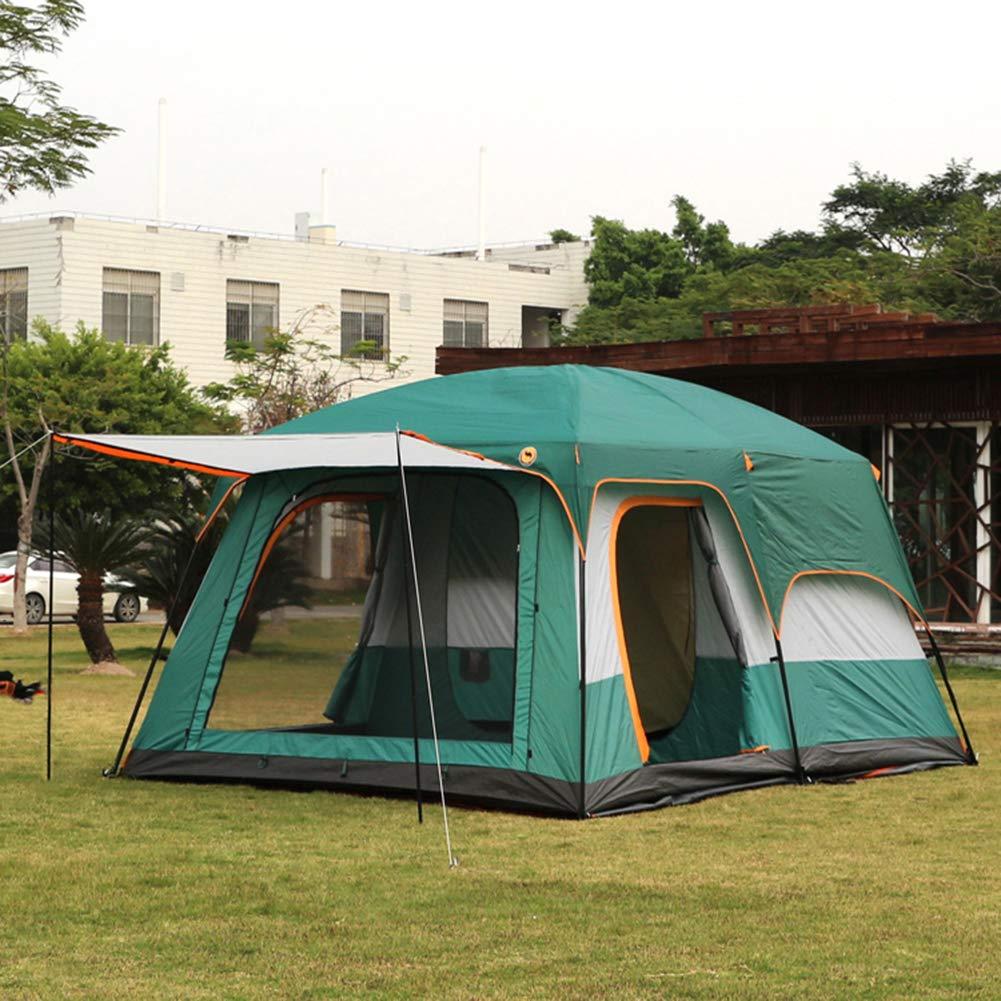 TonXiory TonXiory TonXiory Outdoor-Camping Zelt,6-8 Personen regendichte Sonnenschutz Zelt,Mehreren Personen Zelt Sonne picknicktische-Blau 310x210x185cm(122x83x73inch) B07PY8TB8H Kuppelzelte Abgabepreis 827523
