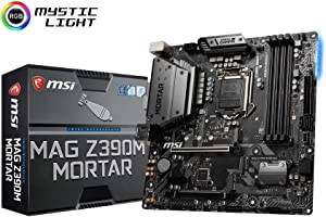 MSI MAG Mortar Intel Z390 LGA 1151 Micro ATX DDR4-SDRAM Motherboard