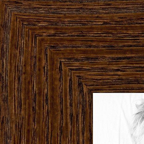 ArtToFrames 20x30 inch Brown - Distressed Wood Wood Pictu...