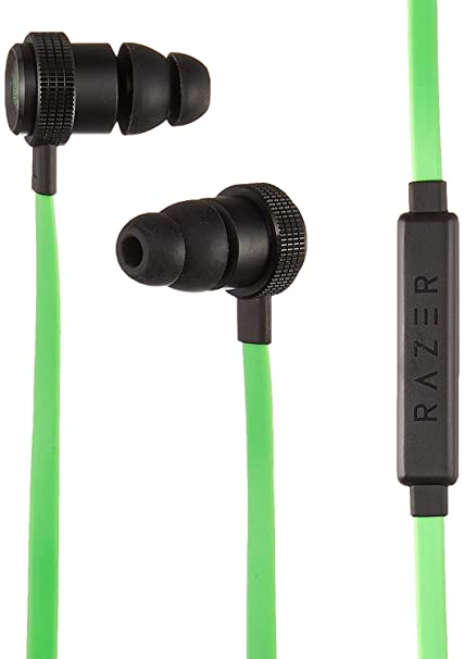 b6548fd3bcb Amazon.com: Razer Hammerhead Pro v2 Earbuds - [Green]: Custom-Tuned  Dual-Driver Technology - In-Line Mic & Volume Control - Aluminum Frame -  3.5mm Headphone ...