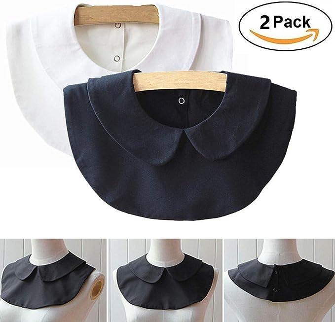 fake turtleneck fake collar Half stripe fake collar for women and men detachable collar for blouse Collar Keep Warm