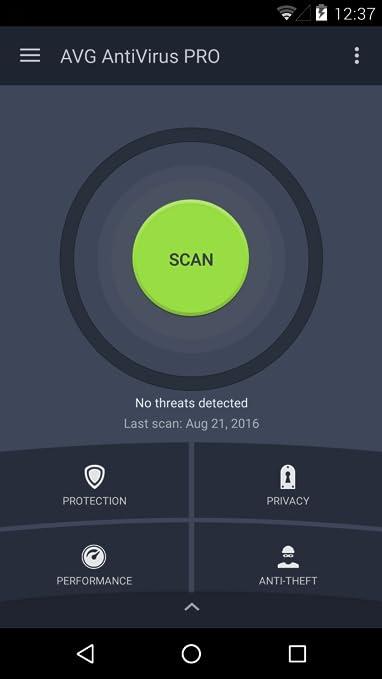 avg antivirus pro for android gratis