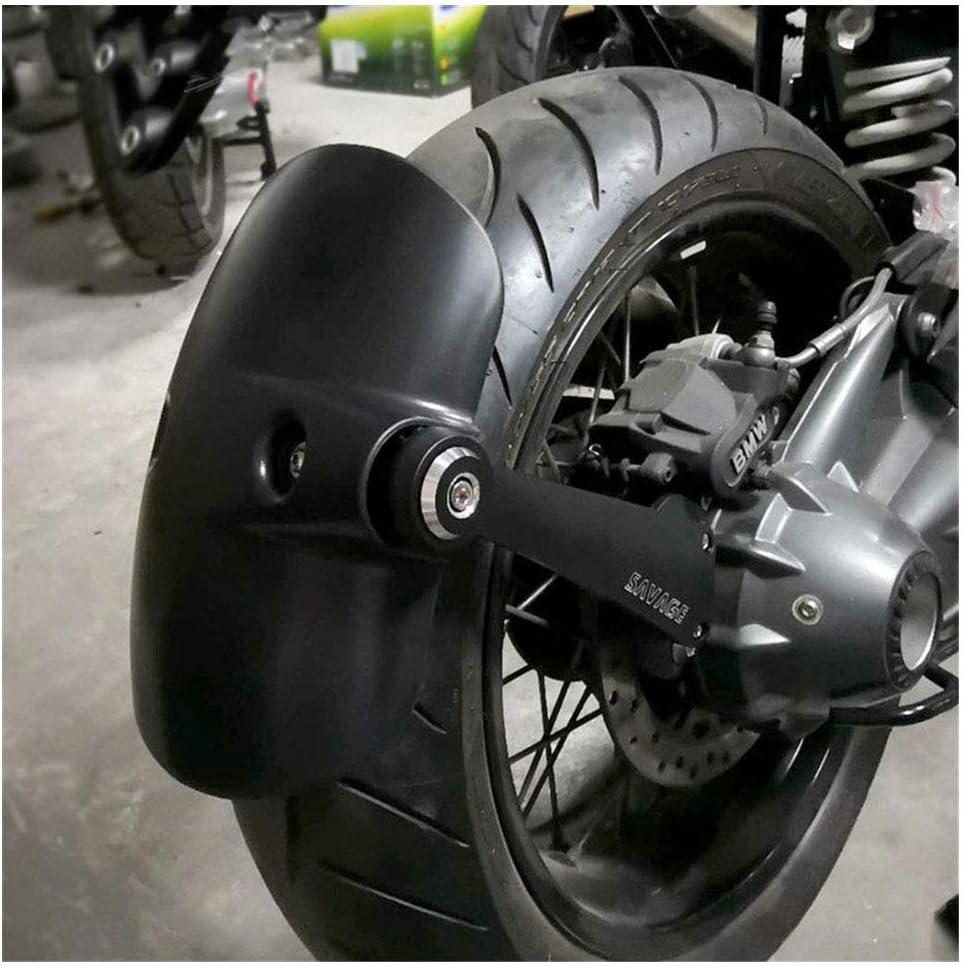 CHUDAN RNINET Parafango Moto Posteriore Alluminio CNC Parafango Posteriore Nero Opaco per BMW R Nine T 2014-2018 R9T