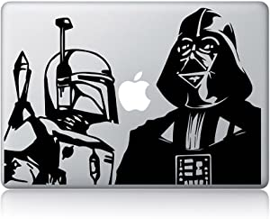Darth Vader and Boba Fett Sticker for laptops MacBooks Cars or Any Smooth Surfaces