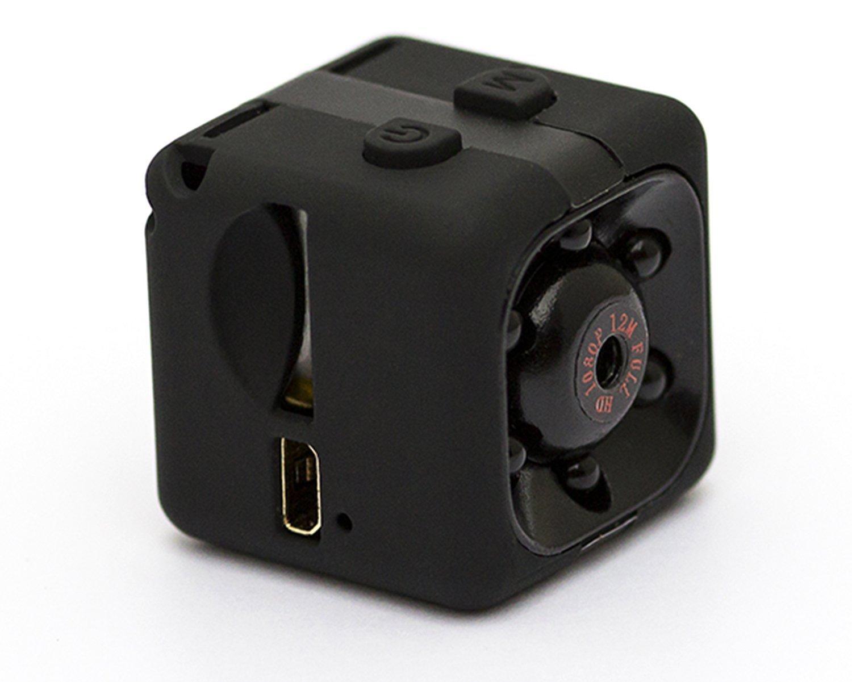 Mini cámara, Camara Espia Spy Cam Mini Camara Oculta HD 12MP 1080PQ Full HD,mini cámara ip, cámara de movimiento con detección de movimiento y visión ...