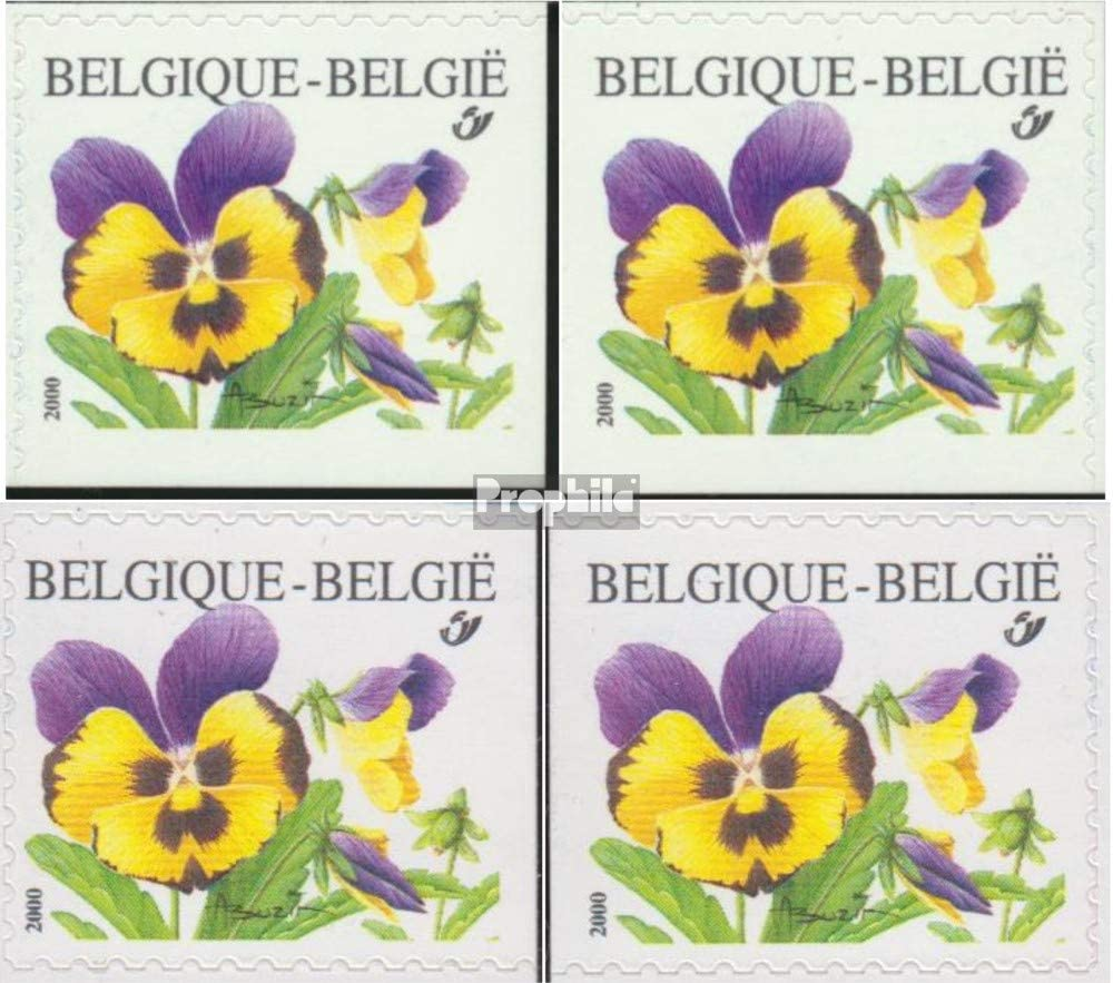 Prophila Collection Belgien 2987Dl,Dr,EL,Er Briefmarken f/ür Sammler Pflanzen // Pilze 2000 Blumen kompl.Ausg.