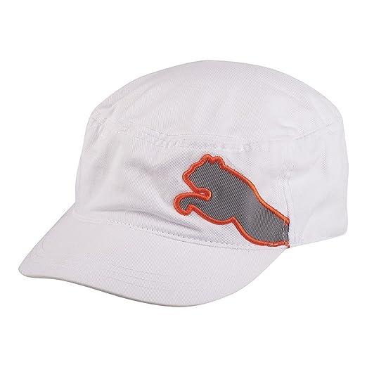 Amazon.com  Puma Military Mens Golf Cap - White  Clothing 9638729f13e