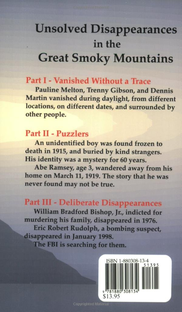 Unsolved Disappearances In The Great Smoky Mountains Amazon