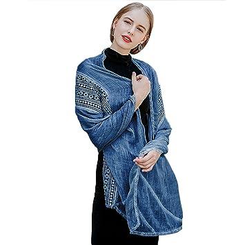 Bufanda Mujer Abrigo De Del Fascigirl Para awHg5q
