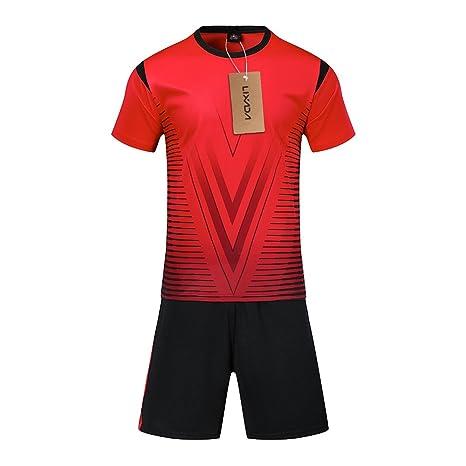 Lixada Set de Camisetas de fútbol Profesional para Adultos ...
