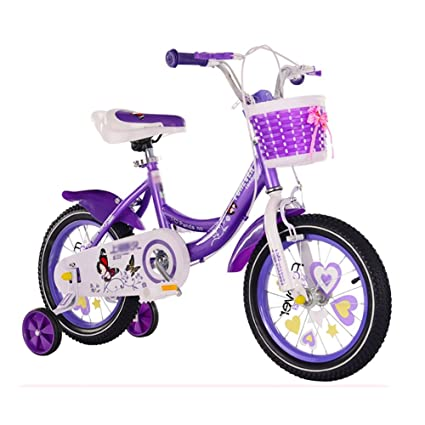 Amazon Com Purple Child Carriage Bikes Girl Boy Baby Cycling 12 14