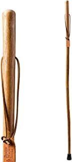 """product image for Brazos 41"""" Free-Form Ash Walking Stick Hiking Trekking Pole, Made in The USA"""