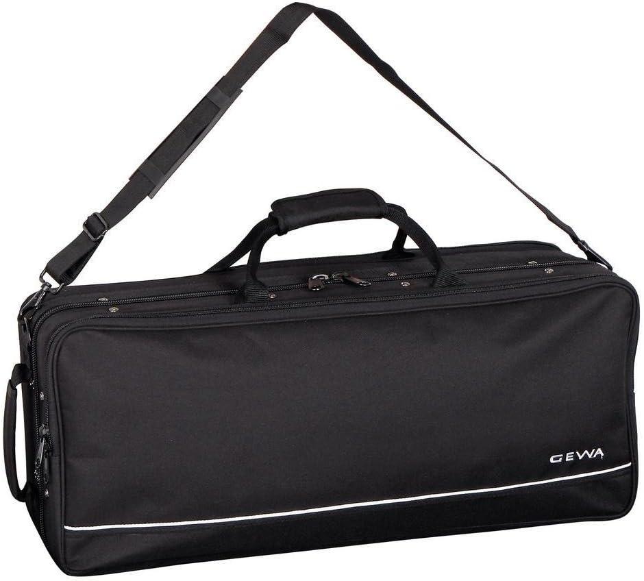 GEWA 708145 - Estuche para saxo alto, ligero, color negro: Amazon.es: Instrumentos musicales
