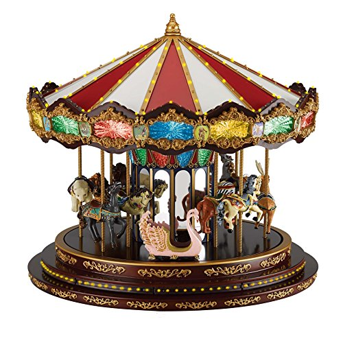 Mr. Christmas 19790 Marquee Deluxe Carousel One Size Multicolor