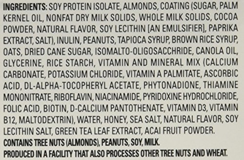 Slim Fast Advanced Nutrition Meal Bar, Caramel Almond Sea Salt, 4 Count (Pack of 4)