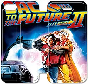 Back To The Future-3 iPhone 6/6S Plus 5.5 Inch Leather Flip Case Protective Cover New Colorful