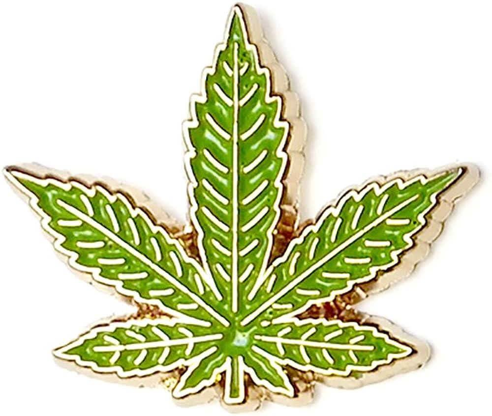 Clayton Jewelry Labs THC Tetrahydrocannabinol Weed Marijuana Hard Enamel Lapel Pin