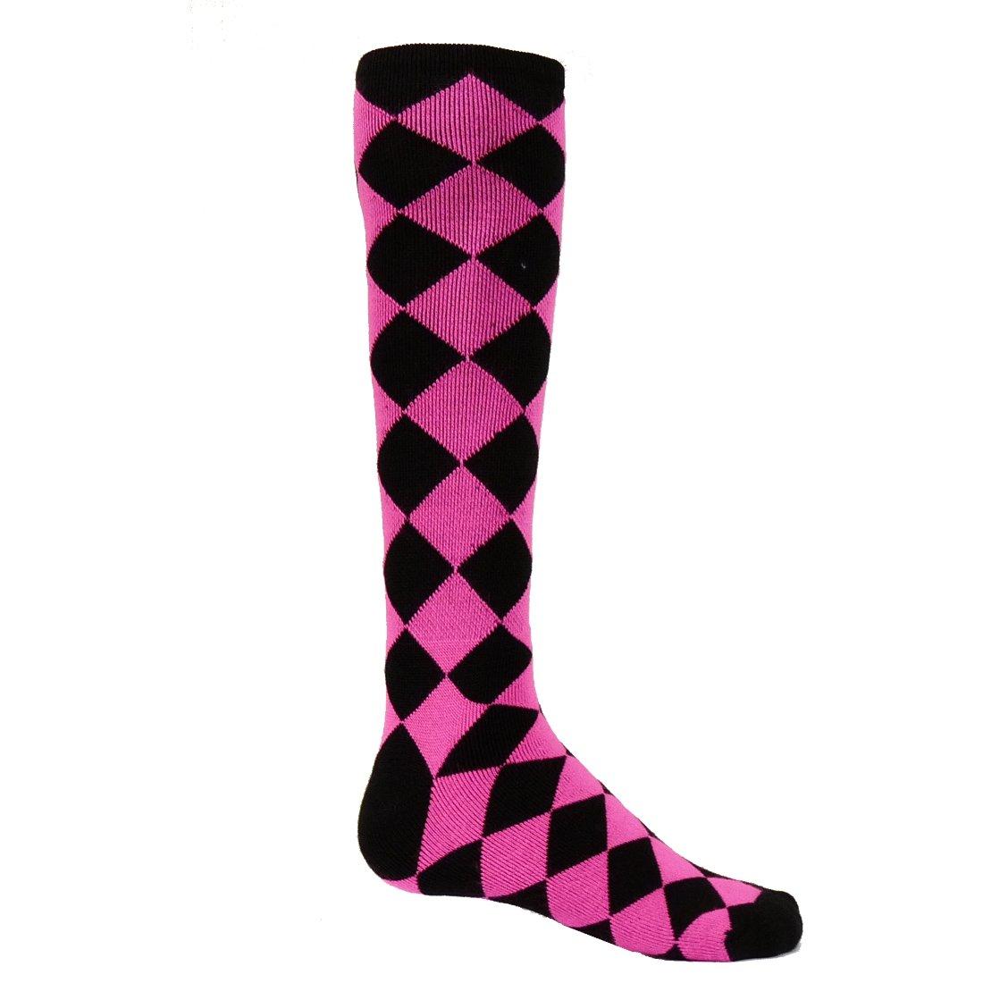 レッドライオンJesterアクリルアスレチックソックス B008GNPMLU Small Black / Neon Pink Black / Neon Pink Small