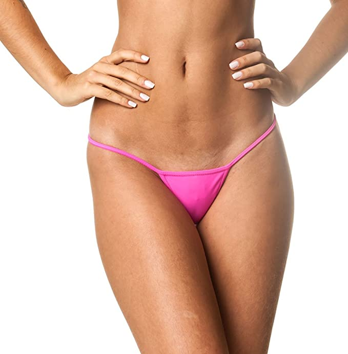 Amazon.com: Coqueta Teeny Micro Tanga Mini Bikini Traje De ...