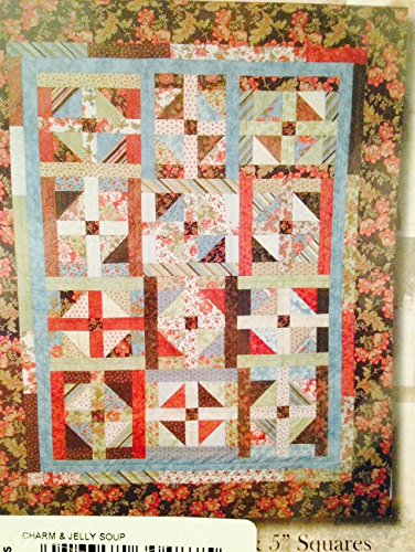 Amazon Charm And Jelly Soup Strip Quilt Pattern 61 X 76