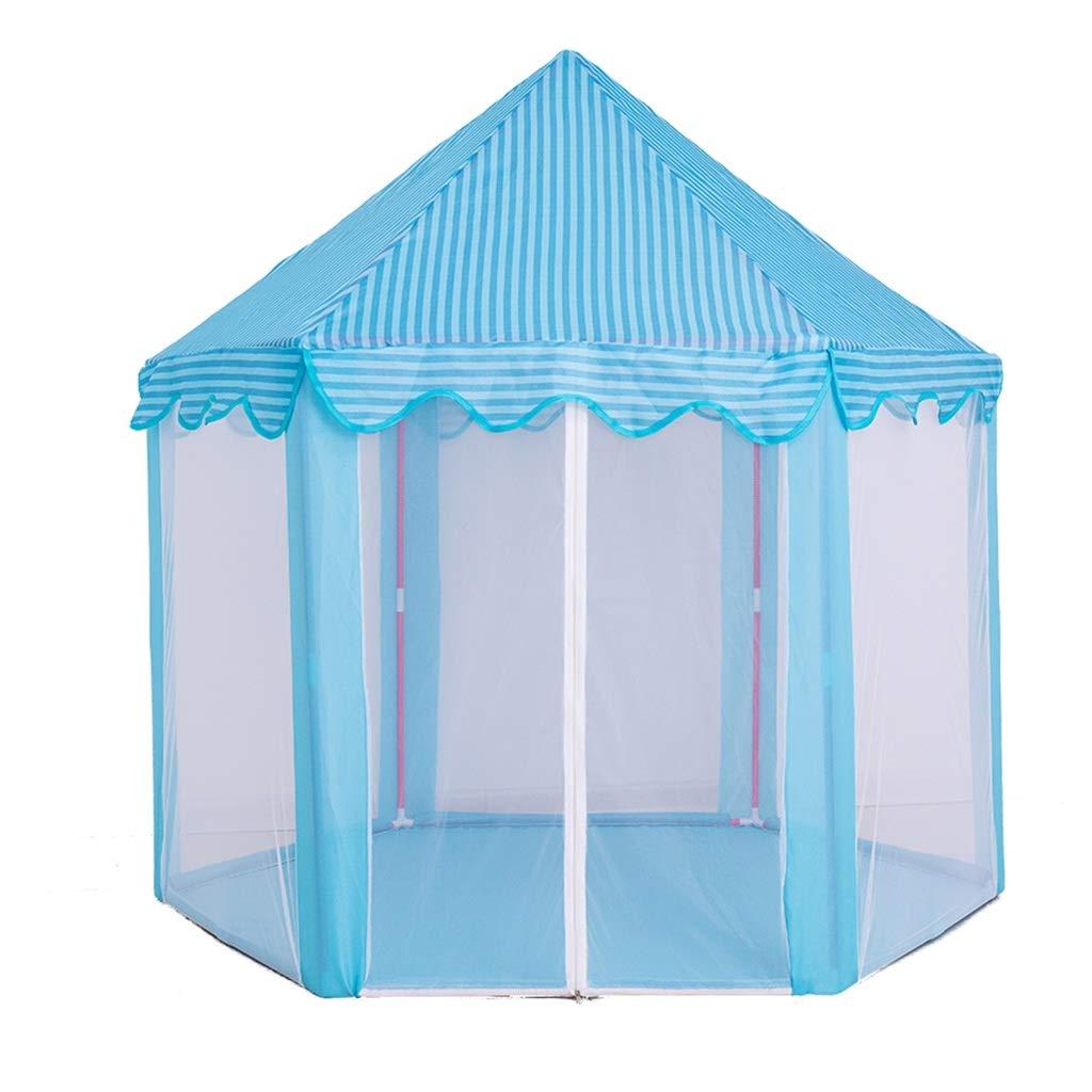 HWZPPP KJZhu Innenspielhaus, Metall Rod Mosquito Schloss Spielzeug Zimmer Split Bett Artefakt Kind Zelt Geburtstagsgeschenk 140  70  135 cm Faltbar