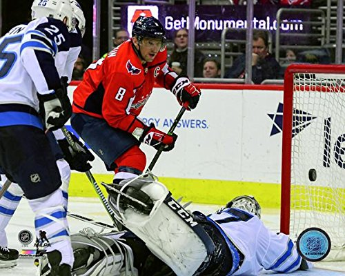 Alex Ovechkin Washington Capitals 600th NHL Goal Photo (Size: 8