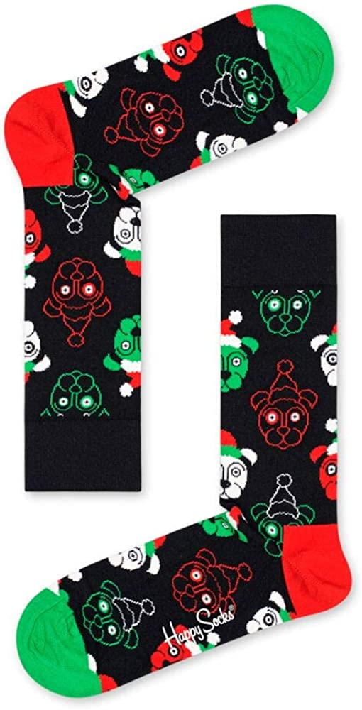 Santa Animals Cracker 2-Pack Holiday Gift Box Herren 41-46 Happy Socks