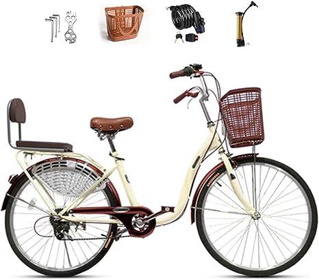 Ti-Fa Bicicleta Retro Cruiser de 24
