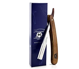 Pure Rose Wood Handle Barber Style Straight Men's Shaving Cut Throat Razor. For All Kind of Shave