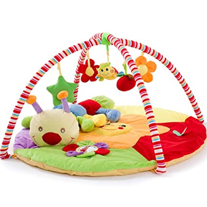 Amazon.com: HEXbaby Play Gym con luces y melodías, edades ...