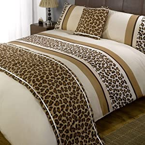 double gold leopard print silk bedding set in Newport Isle of Wight. View this and 's more Bed Linens and Bedding ads on Wightbay! 2 pillow cases and duvet cover brand new used once but I cant get on with it at all. We use cookies to help you get the best experience when using our site.