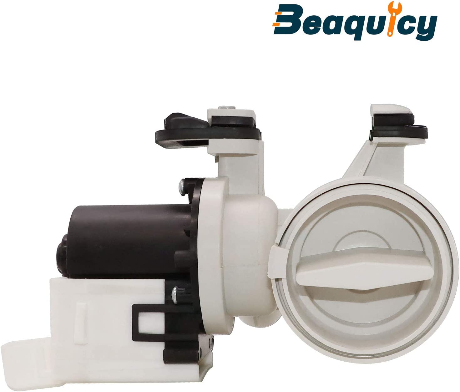 Beaquicy W10130913 Washer Drain Pump (ORIGINAL VERSION) - Replacement part for Whirlpool and Kenmore Washers - Replaces WPW10730972 8540024 8540025 W10117829