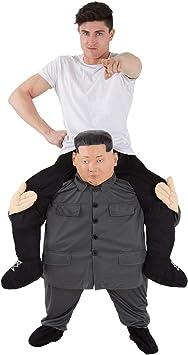 Morph Disfraz Líder Kim Jong Un a Caballito para adultos: Amazon ...