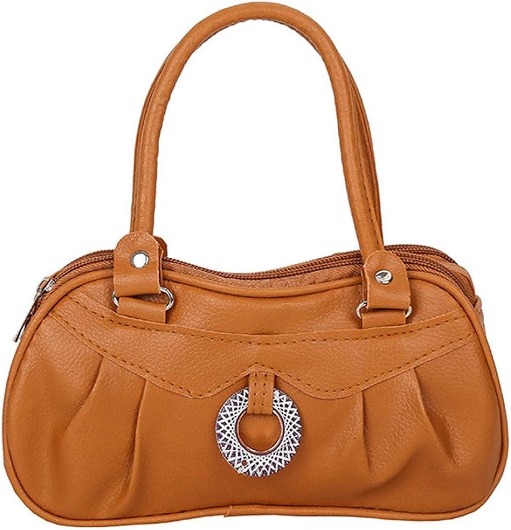 Sunyastor Women Leather Fashion Pure Color Handbag Shoulder Bag Tote Ladies Purse Cross Body Bags Top Handle