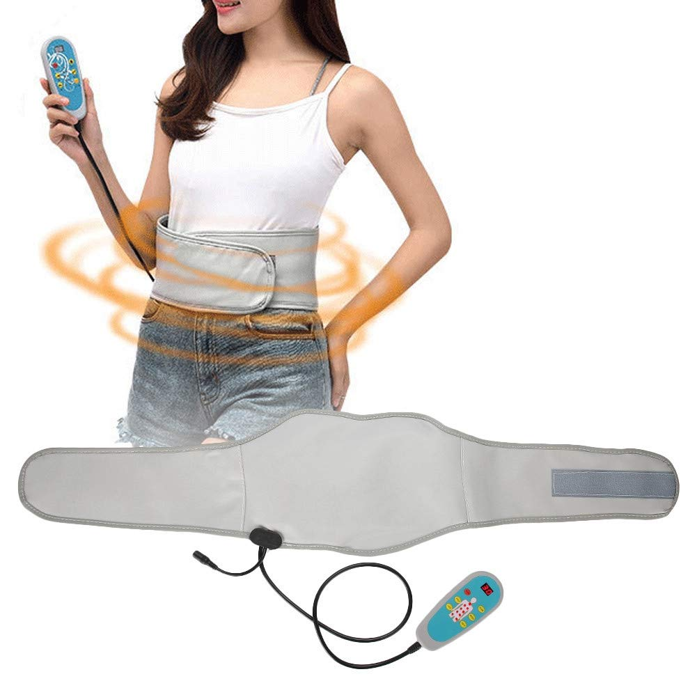110v Massage Waist Belt - Electric Heating Far Infrared Hot Compress, Vibration Fat Reduce Fat, Accelerate burning Weight loss(US)