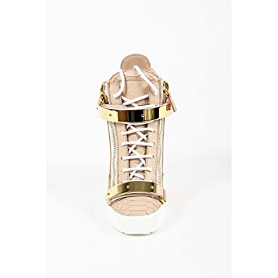 20ff695caea56 Giuseppe Zanotti Womens High Sneaker LAMAY Lorenz 75 TR D Pink/Gold:  Amazon.co.uk: Shoes & Bags