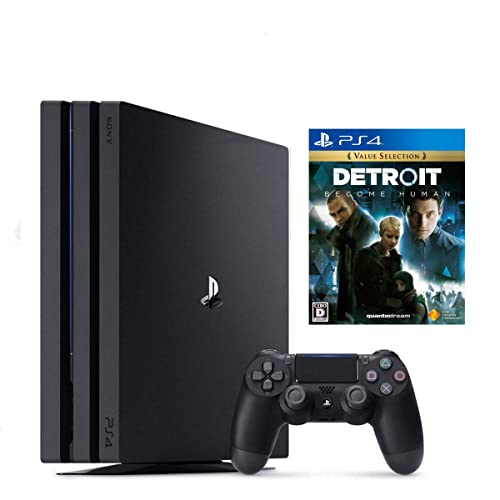 PS4 Pro ジェット・ブラック 1TB  + Detroit: Become Human セット