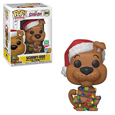Funko Pop! Animation: Holiday Scooby Doo 50th Anniversary Limited Edition Vinyl Figure #655: Toys & Games