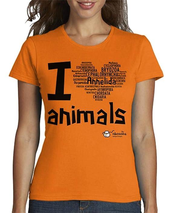 Camiseta biologia especies para Mujer