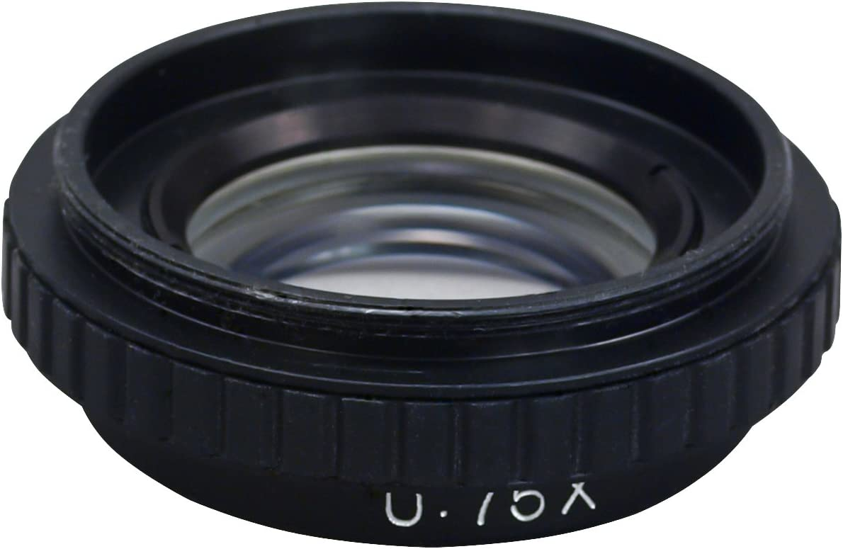 OMAX 0.75X Auxiliary Objective Lens for Stereo Microscope D50mm