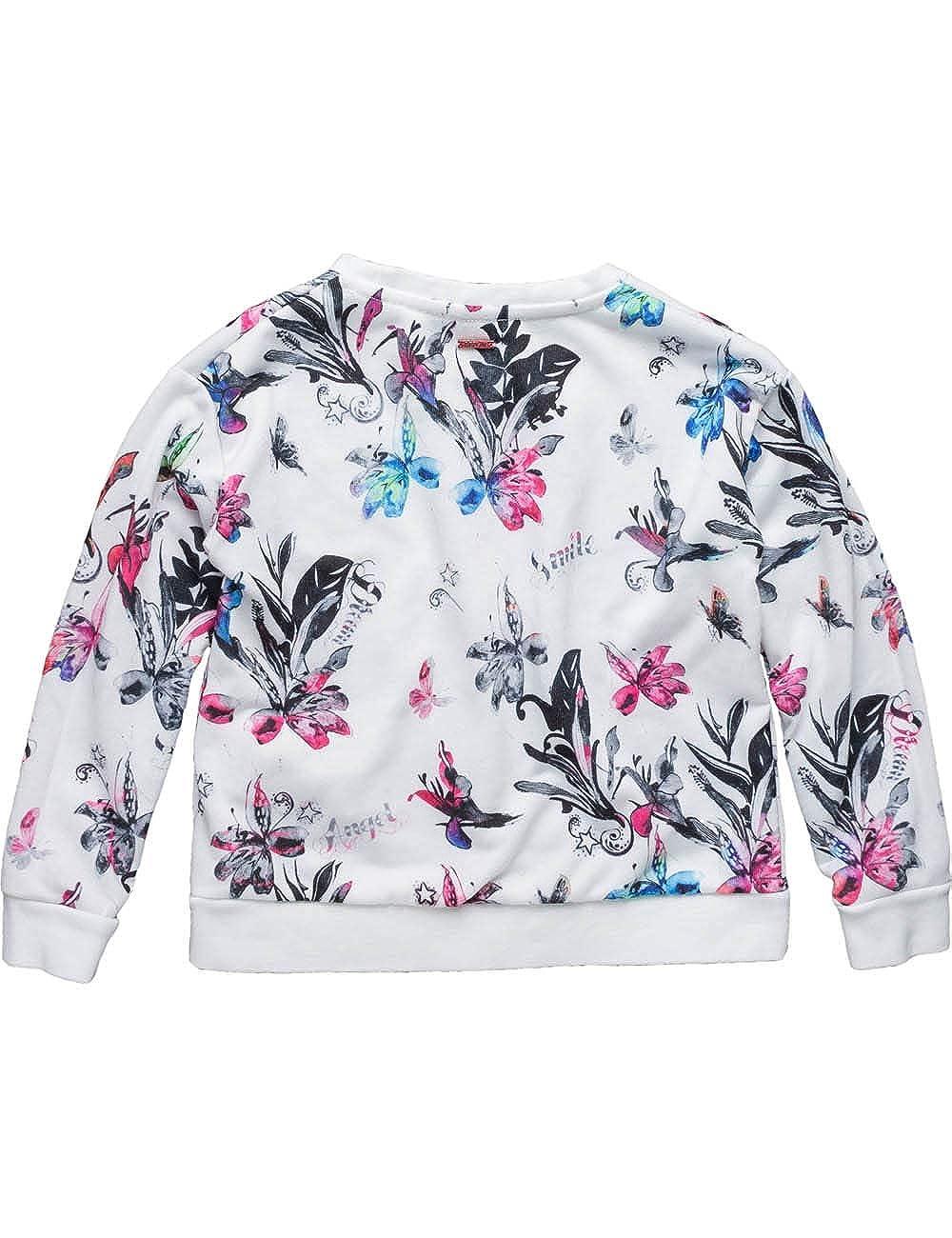 Replay Kids Floral Fleece Sweatshirt