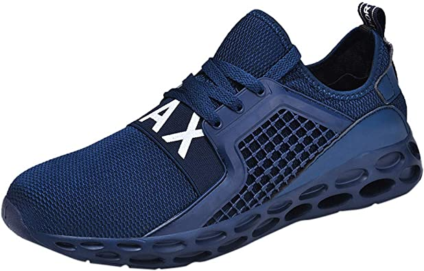 Mens Stylish Trainers Honeycomb Sole Breathable Running Gym Shoes Sneaker Size