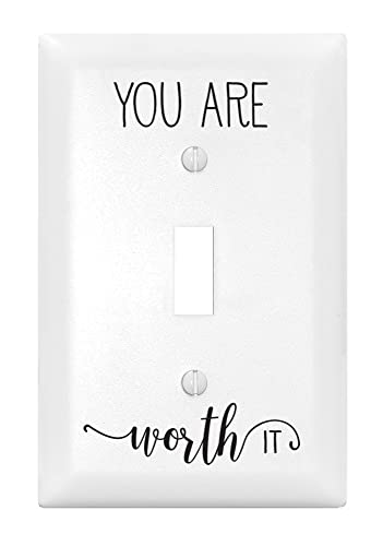 Dexsa Make Today Amazing Let Your Light Shine Single Light Switch Cover