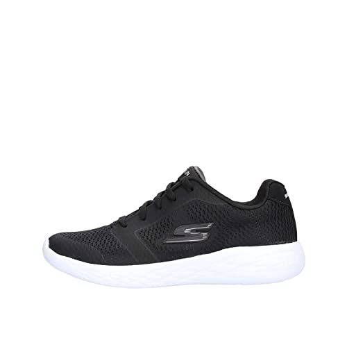 c5bc6529333 Skechers Go Run 600 Zeeton Boys Lace Up Sports Baskets 36 EU Noir