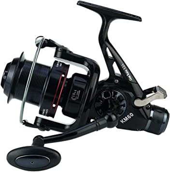 XUPHINX Spinning Fishing Reel Wheel 10 + 1BB Black Metal Izquierda ...