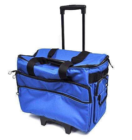 Amazon Bluefig TB40 Wheeled Sewing Machine Carrier Cobalt Beauteous Sewing Machine Carriers With Wheels