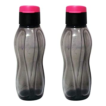 Tupperware Aquasafe Fliptop Botella de agua transparente, 310 ml ...