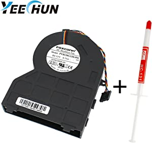YEECHUN CPU Cooling Fan for DELL 390 790 990 Series SFF Small Chassis New Notebook Replacement Accessories 12V 0.75A P/N:0J50GH 21CFMJ50GH-A00 PVB120G12H-P01