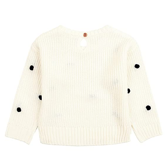 Suéter Bebé, LANSKIRT Recién Nacido Bebé Niña Color Sólido de Manga Larga Suéter Jerseys de Punto Mantener Caliente Abrigo Chaqueta Ropa: Amazon.es: Ropa y ...